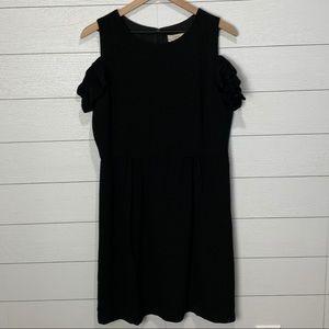 NWT LOFT Black Dress Size 10